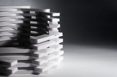 Abstrakt bakgrund för byggnad 3D Arkivfoto