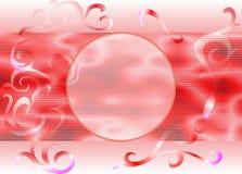 Abstrakt bakgrund för cirkel på inga rosa färger 14 Arkivfoto