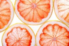 Abstrakt bakgrund för citrusa skivor Arkivfoto