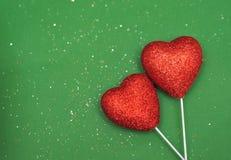 Abstrakt bakgrund för dag för valentin` s Arkivbilder