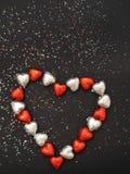 Abstrakt bakgrund för dag för valentin` s Royaltyfri Bild