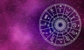 Abstrakt bakgrund för design för astrochartgalaxillustration Royaltyfri Foto