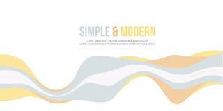 Abstrakt bakgrund för design för titelradwebsitevåg Royaltyfria Bilder