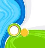 Abstrakt bakgrund för designen - mall vektor illustrationer