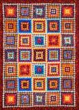 Abstrakt bakgrund för färg av patchworktekniken Arkivfoto
