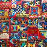 Abstrakt bakgrund för färg av patchworktekniken Royaltyfri Bild