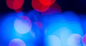 Abstrakt bakgrund för färgrika lampor Fotografering för Bildbyråer