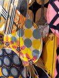Abstrakt bakgrund för färgrika livliga cirklar Arkivbilder
