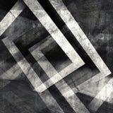 Abstrakt bakgrund för fyrkantbetong 3 D vektor illustrationer