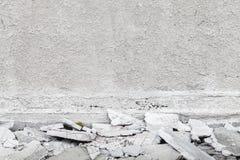 Abstrakt bakgrund för grå färgbetonginre Arkivbilder