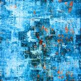 Abstrakt bakgrund för Grunge med gamla affischer Arkivfoton