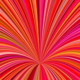 Abstrakt bakgrund för hål 3d - vektordiagrammet från att virvla runt rays Arkivbild