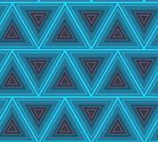 Abstrakt bakgrund för hipsterpoligontriangel seamless modell Arkivfoto