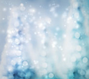 Abstrakt bakgrund för julgran Arkivbilder