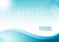Abstrakt bakgrund för läkarundersökning Royaltyfria Bilder
