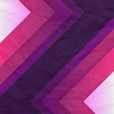 Abstrakt bakgrund för lila- och violettriangelformer Royaltyfri Fotografi