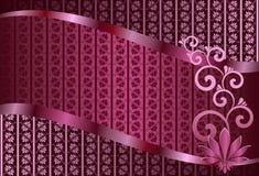 Abstrakt bakgrund för lilor Stock Illustrationer