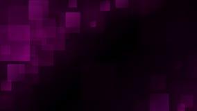 Abstrakt bakgrund för lilor av oskarpa fyrkanter stock illustrationer