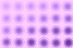 Abstrakt bakgrund för lilor, cirklar, lutning Royaltyfri Foto