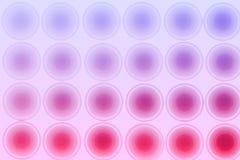Abstrakt bakgrund för lilor, cirklar, lutning Fotografering för Bildbyråer