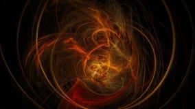 Abstrakt bakgrund för mörker med försiktiga spirala band Royaltyfri Foto