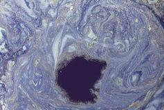 Abstrakt bakgrund för marmor med guld- pulver green låter vara naturmodelltextur Arkivbild