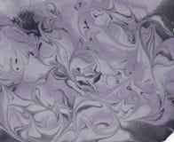 Abstrakt bakgrund för marmor med guld- pulver Natur som marmorerar textur Royaltyfria Bilder
