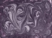 Abstrakt bakgrund för marmor med guld- pulver Natur som marmorerar textur Royaltyfri Fotografi