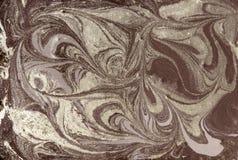 Abstrakt bakgrund för marmor med guld- pulver Natur som marmorerar textur Royaltyfri Bild