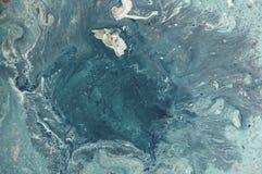 Abstrakt bakgrund för marmor med guld- pulver Natur som marmorerar textur Arkivfoton