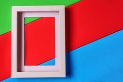 Abstrakt bakgrund för minimalismcolofrulpapper med den tomma bilden Royaltyfri Bild