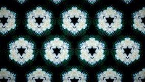 Abstrakt bakgrund för modell för vit blomma Royaltyfri Bild