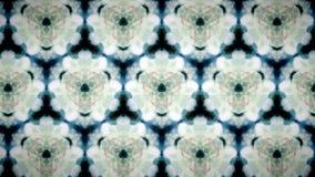 Abstrakt bakgrund för modell för vit blomma Arkivbilder