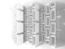 Abstrakt bakgrund för modern design för arkitektur Arkivfoto