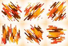 Abstrakt bakgrund för moderna band Arkivbild