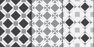 Abstrakt bakgrund för moderna geometriska sömlösa modeller Royaltyfria Bilder