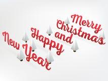 Abstrakt bakgrund för orientering för glad jul för vektor För konstdesign för lyckligt nytt år lista, sida, modelltemastil, baner Arkivfoto