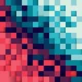 Abstrakt bakgrund för PIXEL Royaltyfri Bild
