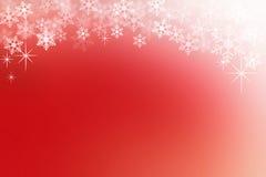 Abstrakt bakgrund för röd och vit jul Arkivbilder