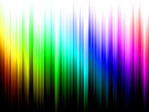 Abstrakt bakgrund för regnbåge Arkivbild