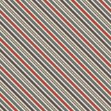 Abstrakt bakgrund för Retro band för färger diagonala Tunn lutande linje tapet Sömlös modell med klassiskt motiv Arkivfoto