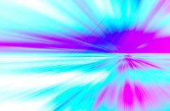 Abstrakt bakgrund för rosa färg- och blåttrörelsediagram Royaltyfri Bild