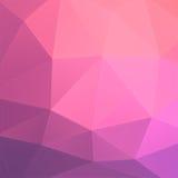 Abstrakt bakgrund för rosa färger och för lilor vektor illustrationer