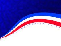 Abstrakt bakgrund för självständighetsdagen Arkivbild
