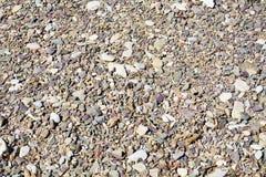Abstrakt bakgrund för små stenar Royaltyfri Bild