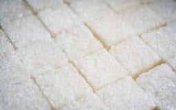 Abstrakt bakgrund för sockerkuber Arkivfoto