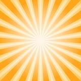 Abstrakt bakgrund för solljus Bakgrund för apelsin- och bruntfärgbristning Royaltyfria Bilder