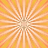Abstrakt bakgrund för solljus Bakgrund för apelsin- och bruntfärgbristning Arkivbilder