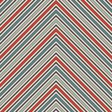 Abstrakt bakgrund för sparre Retro sömlös modell med den klassiska geometriska prydnaden Sicksackhorisontallinjer tapet stock illustrationer