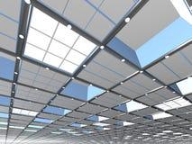 Abstrakt bakgrund för tak Fotografering för Bildbyråer